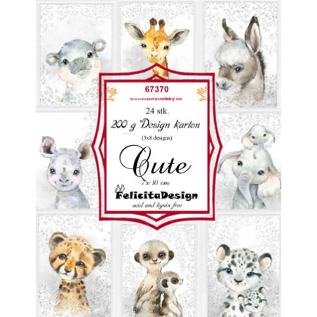 Felicita Design Toppers - Cute - 67370