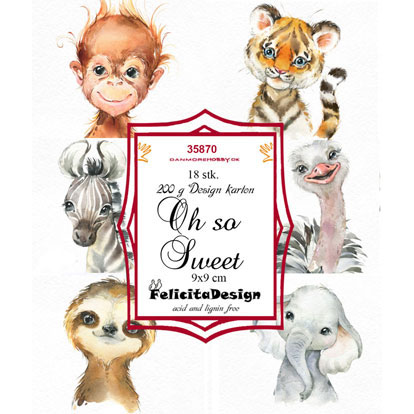 Felicita Design Toppers - Oh so Sweet - 35870