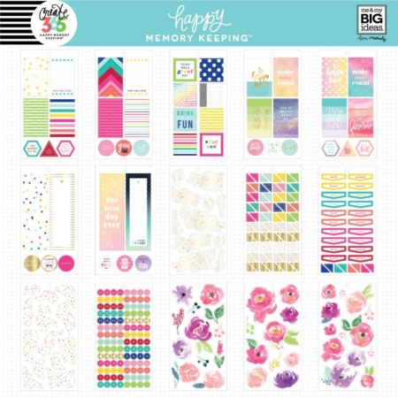 Happy Planner Sticker - Floral Memories - PPSV-28