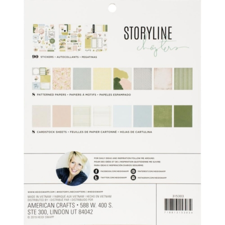 Heidi Swapp Storyline Chapters - The Planner - 315303