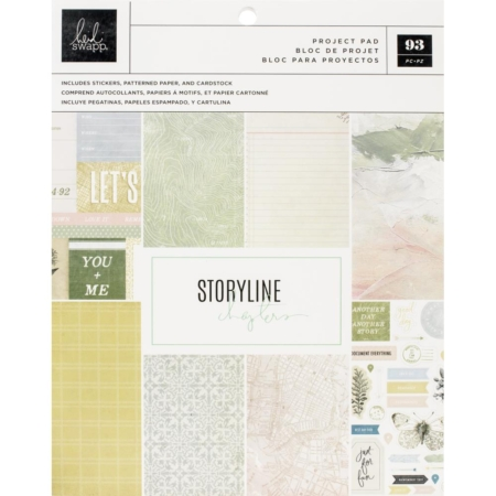 Heidi Swapp Storyline Chapters - The Scrapbooker - 315306