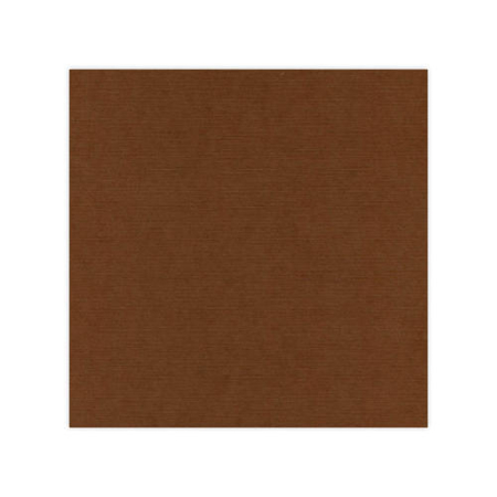 "Linnen karton 12x12"" - Chocolate Brown - 582033"