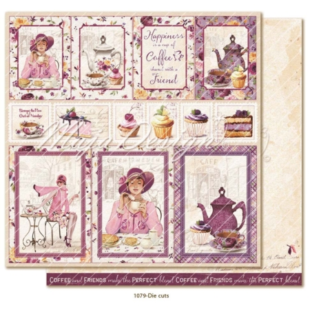 Maja Design Little street café - Die cuts - LIT-1079