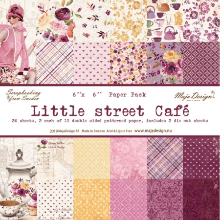 Maja Design Little street café – Paper Pack – LIT1080