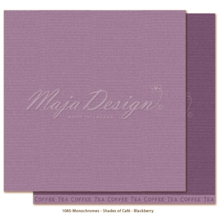 Maja Design Monochromes Shades of Café - Blackberry - MONO-1085