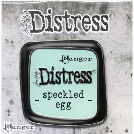 Tim Holtz Distress Enamel Collector Pin - Speckled Egg - TDZ73123