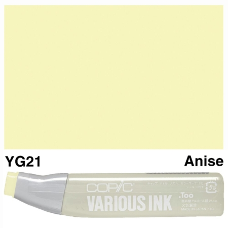 Copic Various Ink REFILLS - Anise - YG21