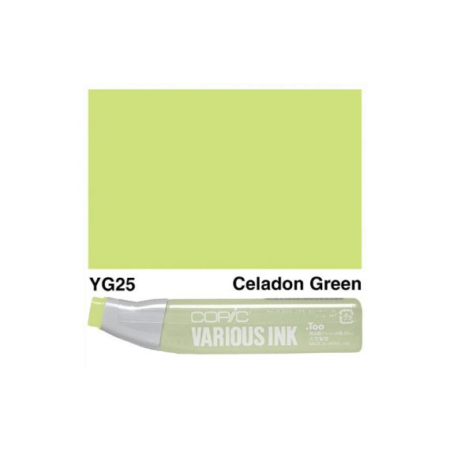 Copic Various Ink REFILLS - Celadon Green - YG25
