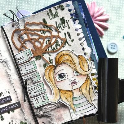 Elizabeth Craft Designs Dies - Journal Edges - 1786