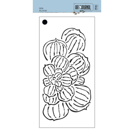 Elizabeth Craft Designs Stencil - Bloom - S036