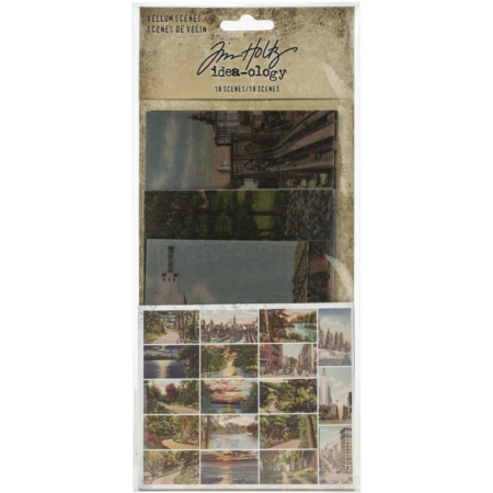 Idea-Ology Vellum Scenes - TH94028