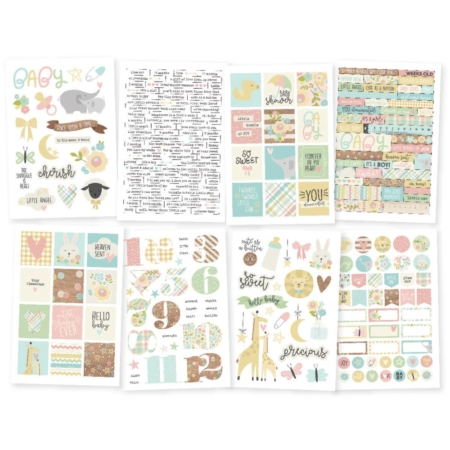 Simple Stories - Oh Baby! Stickers - 10132