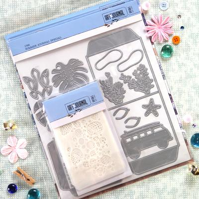Elizabeth Craft Designs Dies - Summer Journal Special - K002