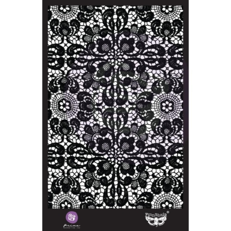 "Prima Marketing Stencil 6""X9"" - Ornate Lace - 966669"