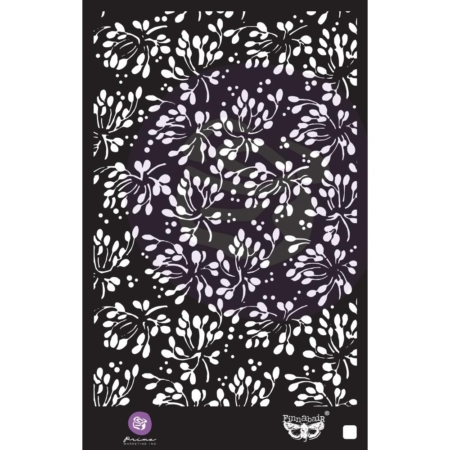 "Prima Marketing Stencil 6""X9"" - Wild Berries - 966690"