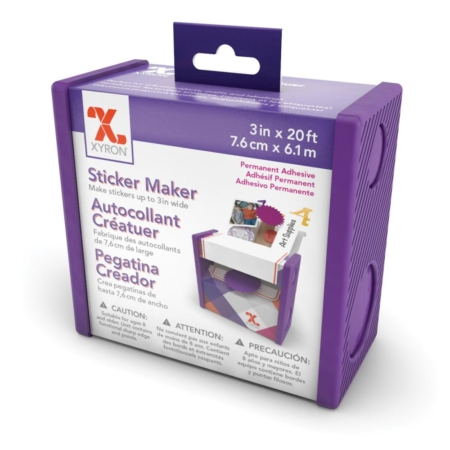"Xyron 3"" Disposable Sticker Maker"