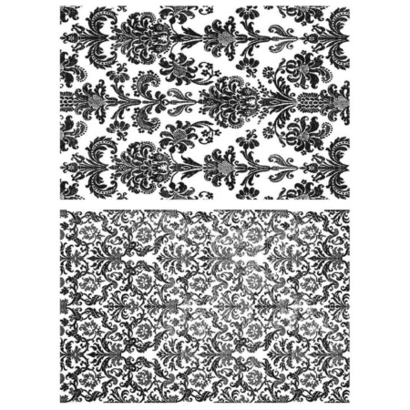 Tim Holtz Cling Stamps set – Tapestry – CMS414