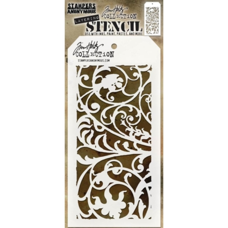 Tim Holtz – Layered Stencil – Ironwork Layered – THS148
