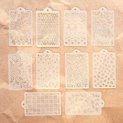 Elizabeth Craft Designs Stencil Pattern Stencil Pack - S040